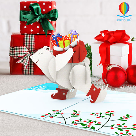 christmas-bear-with-giftspop-up-greeting-cards