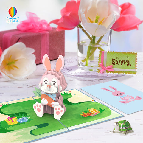 bunny-animal- pop-up-cards