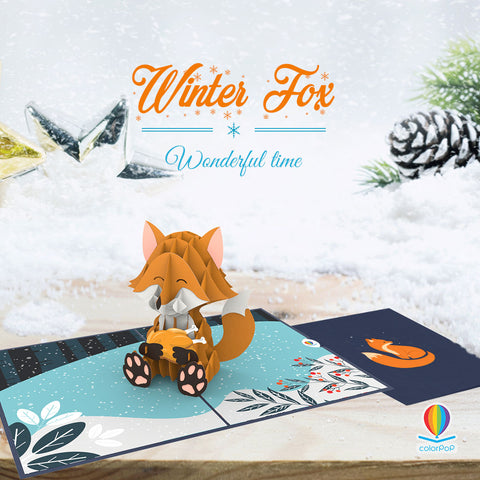 winter-fox-animal-pop-up-cards