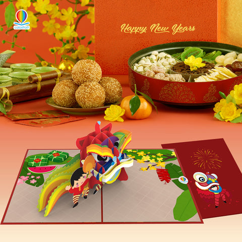 new year greeting card 2