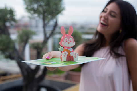 pop up card company bunny