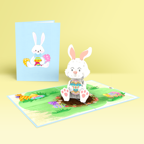 pop up card easter day collection Bunny 1