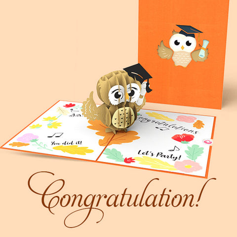 pop up card printable graduation