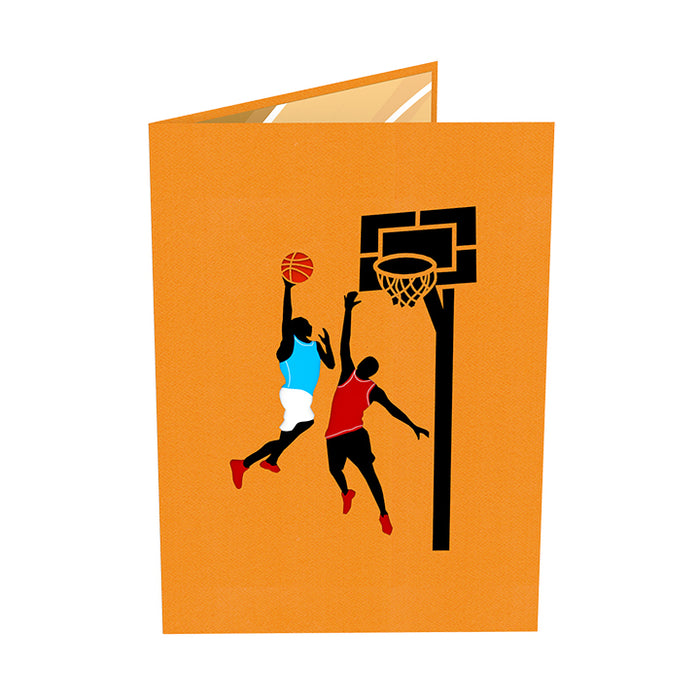 Basketball Pop Up Card