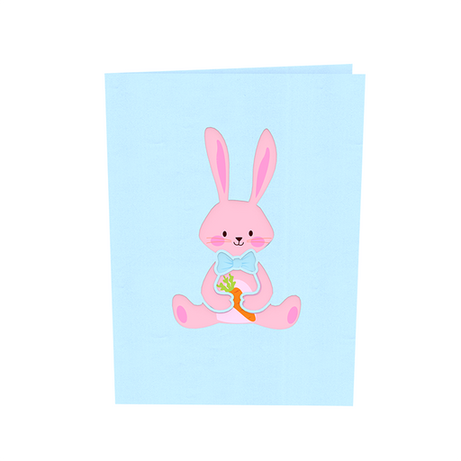 Bunny Pop Up Card
