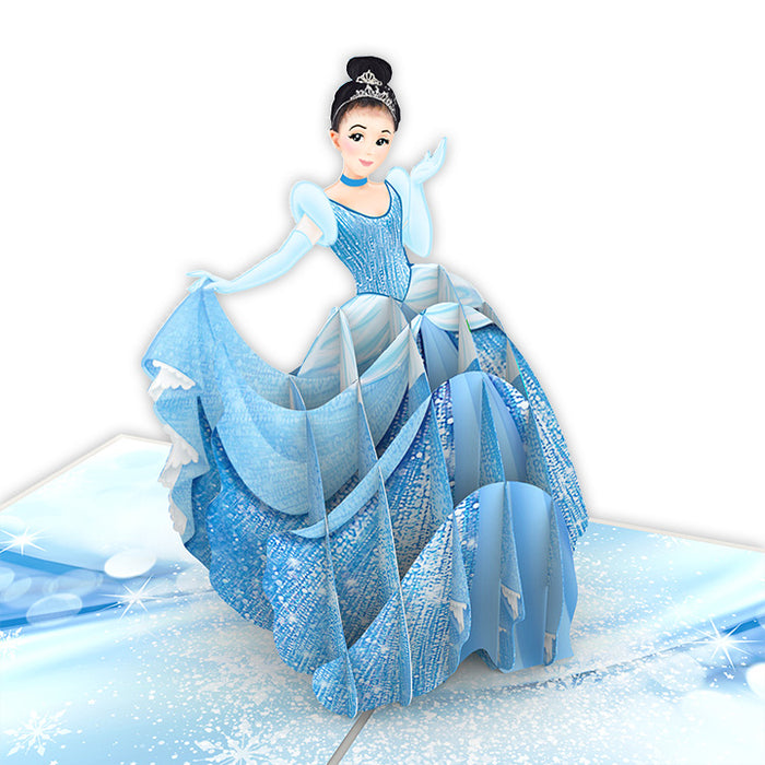 Cinderella Pop Up Card