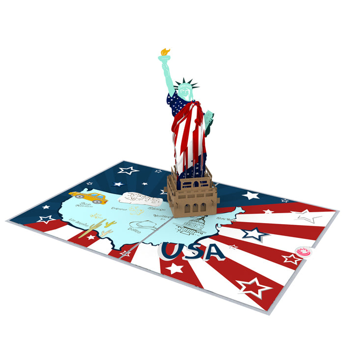 Flag Day Pop up card thumbnail