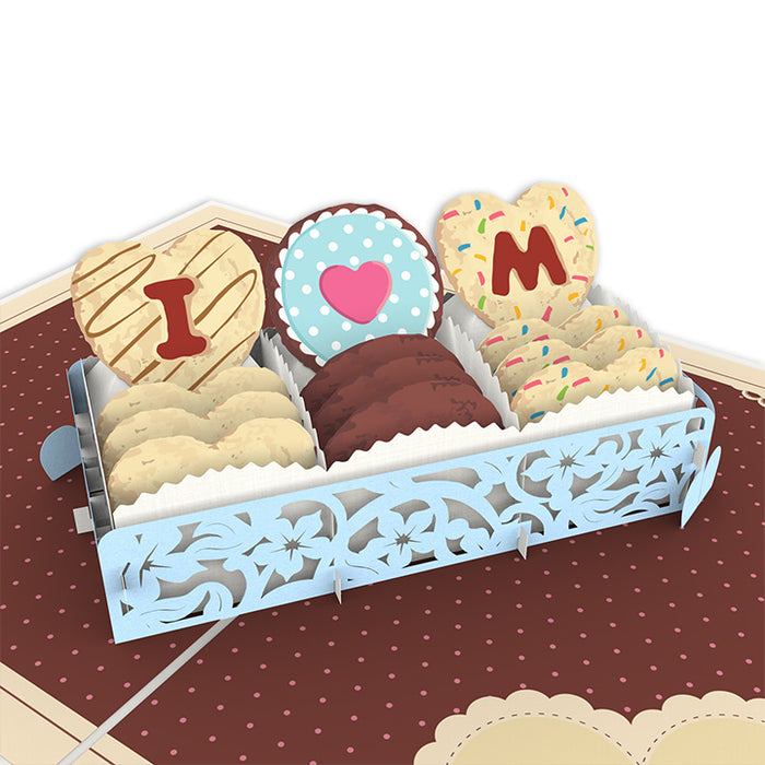 Love Cakes For Mom Pop Up Card