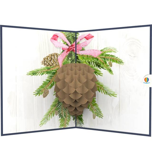 Pinecone Pop Up Card Thumbnail