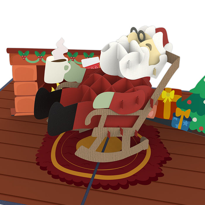 Santa Pop Up Card