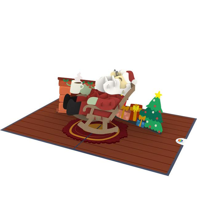 Santa Pop Up Card Thumbnail