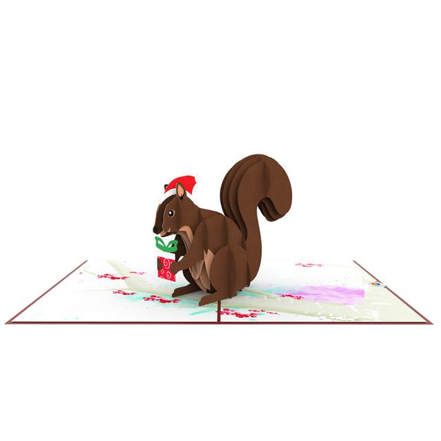 Squirrel Pop Up Card Thumbnail
