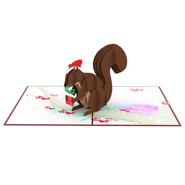 Squirrel Pop Up Card