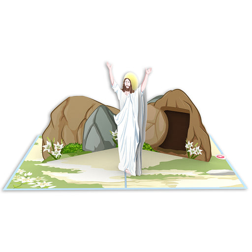 The Risen Lord Pop Up Card