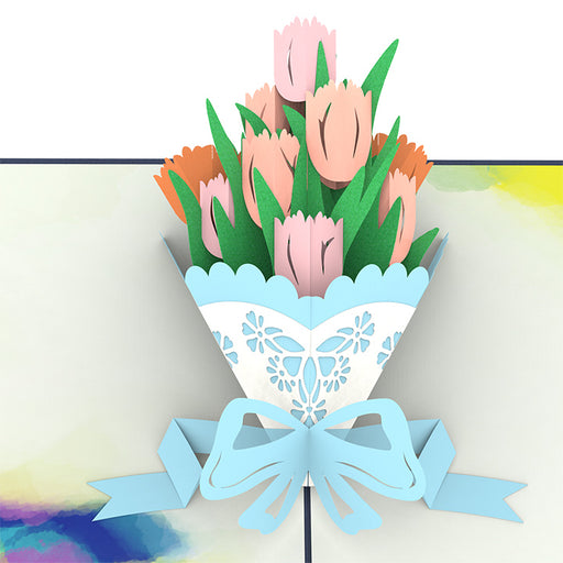 Tulip Pop Up Card