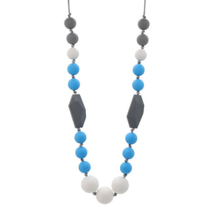 Blue & Grey Nursing Necklace