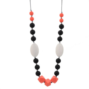 Watermelon & Black Nursing Necklace