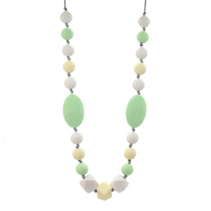 Mint & Yellow Nursing Necklace