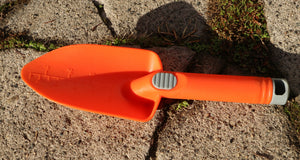 Tough Plastic Hand Trowel - Orange
