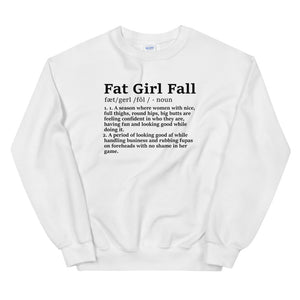 Fat Girl Fall Sweatshirt