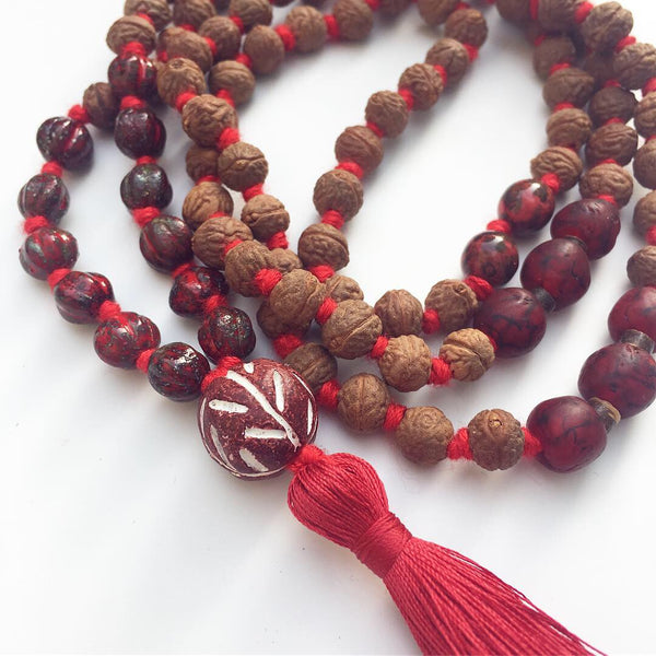 Eco Collection: The 'Sacred Release' Mala