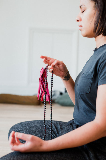 How to Use Your Mala Beads: Why your hands matter when using mala beads