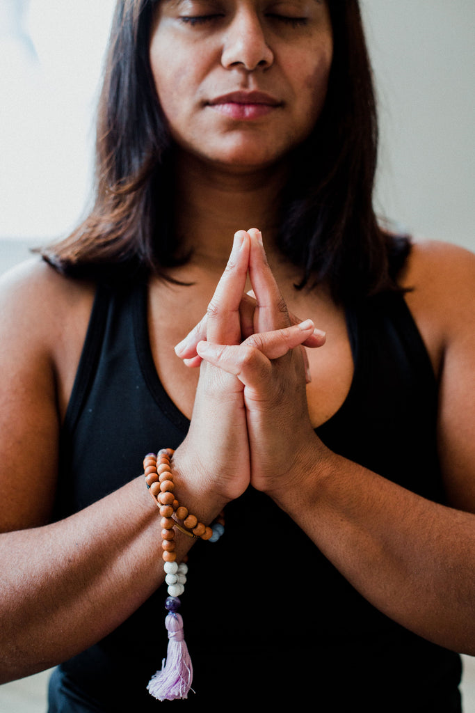 Fifty-Four Breaths to Calm: Using a Half Mala