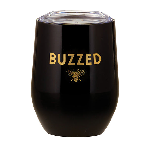 Stainless Wine Tumbler- Buzzed