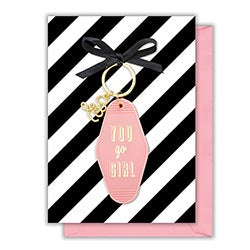 Card with Keychain