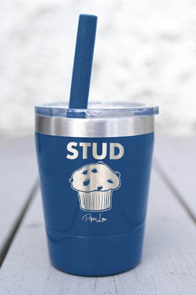STUD MUFFIN KIDS  LASER ETCHED TUMBLER