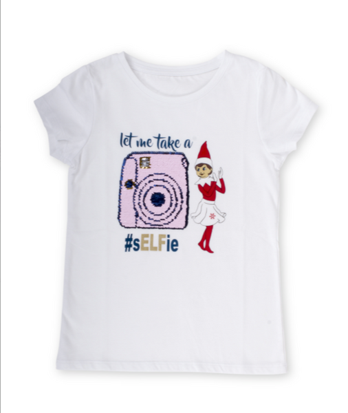 Elf on the Shelf Sequin Tee
