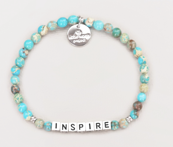 "Little Words Project ""Inspire"" Stone Bracelet"