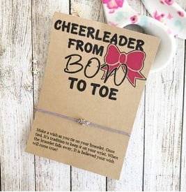 Cheerleader from Bow to Toe Wishlet