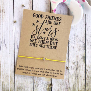 Good Friends are Like Stars Wishlet