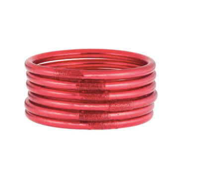 Pink All Weather Bangles (set of 6)