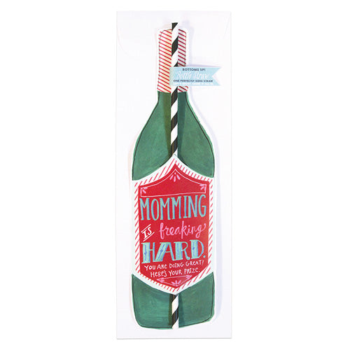 Bottle Straw Cards