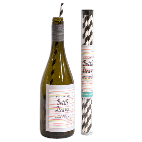 Wine Bottle Straws