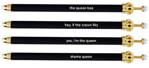 Crown Pen- Black