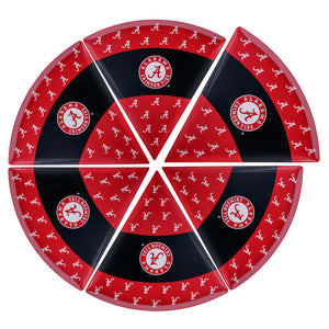 UNIVERSITY OF ALABAMA PIZZA PLATE STATE