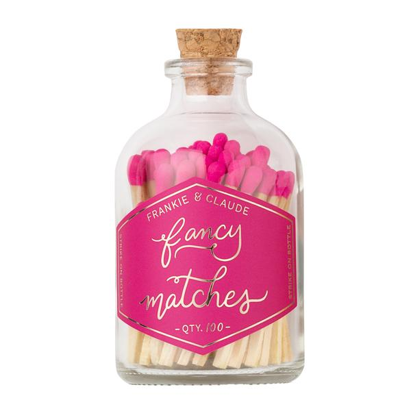 SMALL HOT PINK MATCH JAR