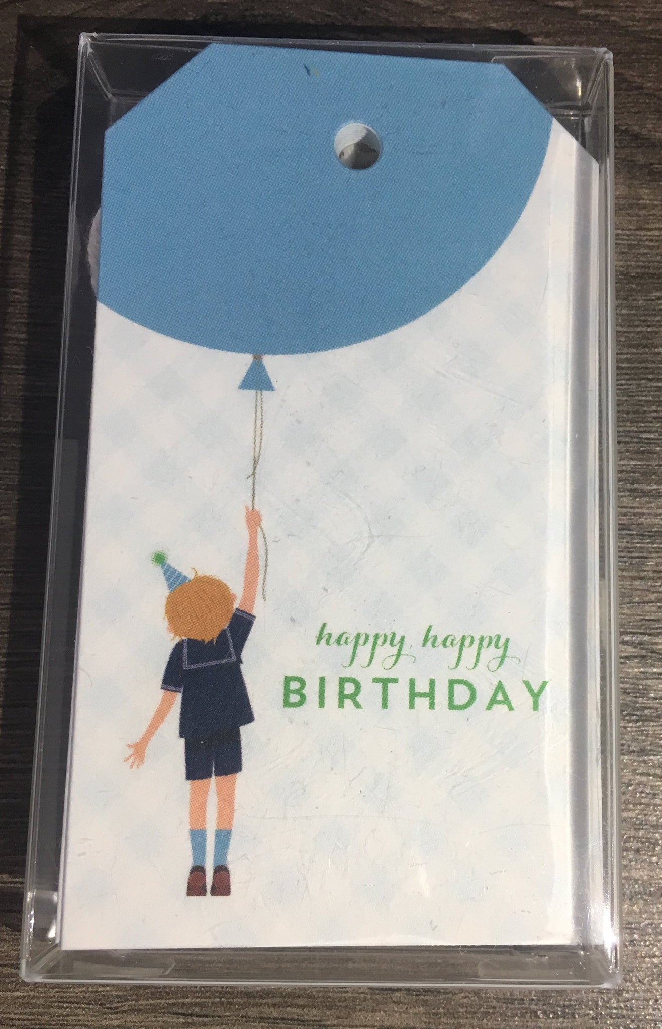 Stock Birthday Boy Gift Tags