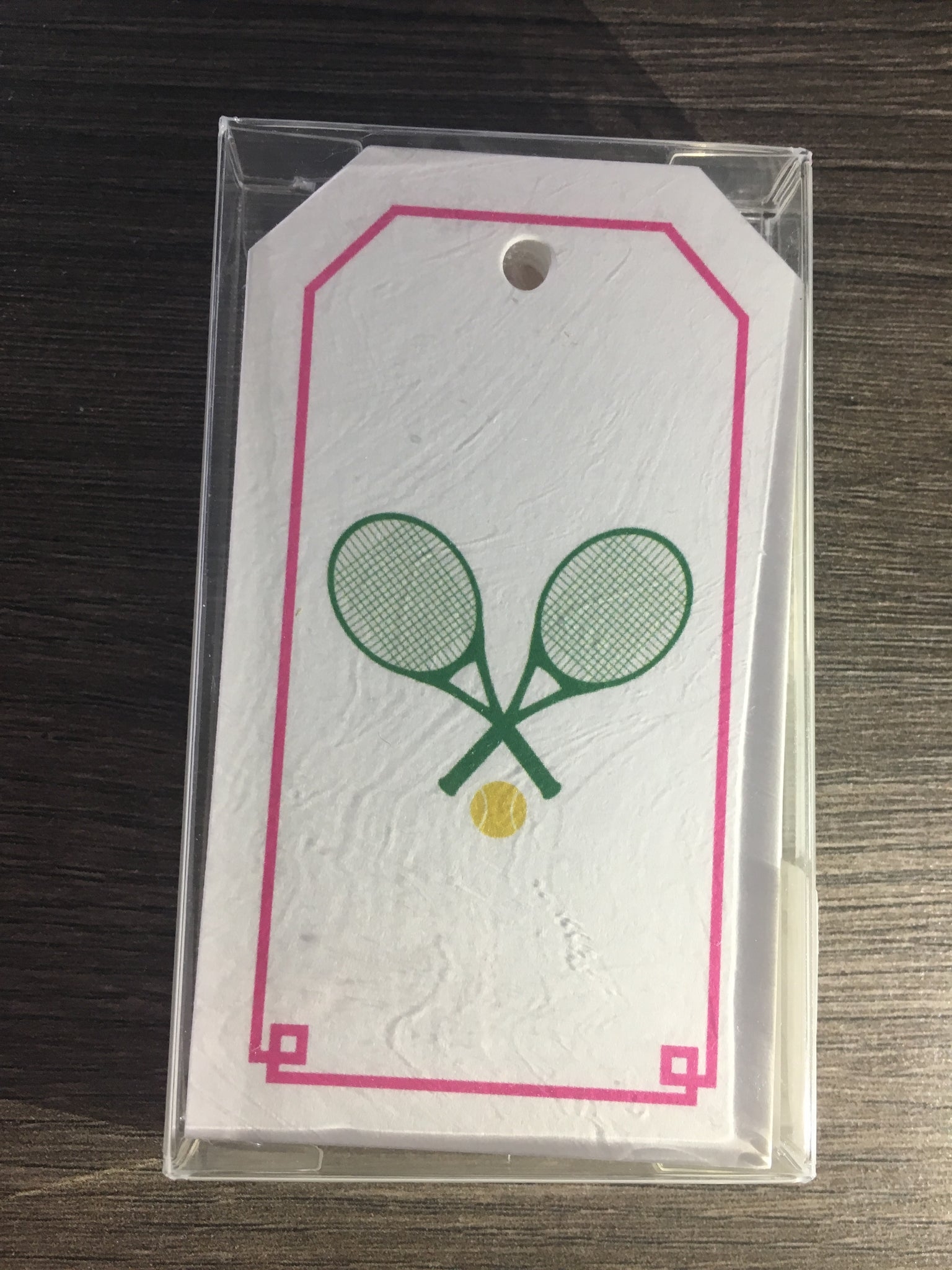 Stock Tennis Gift Tags