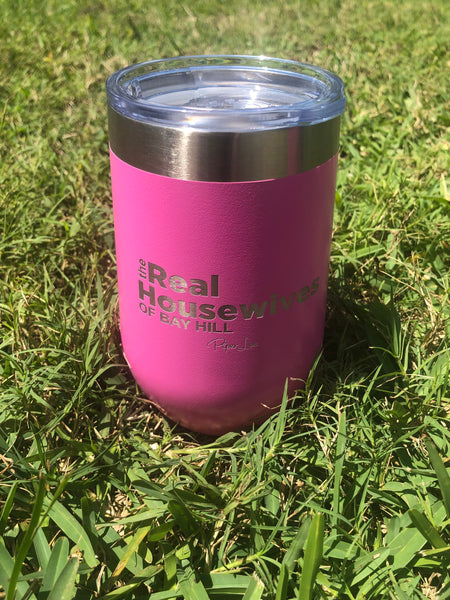 Real Housewives 16oz.  Stemless Wine Glass- Bay Hill