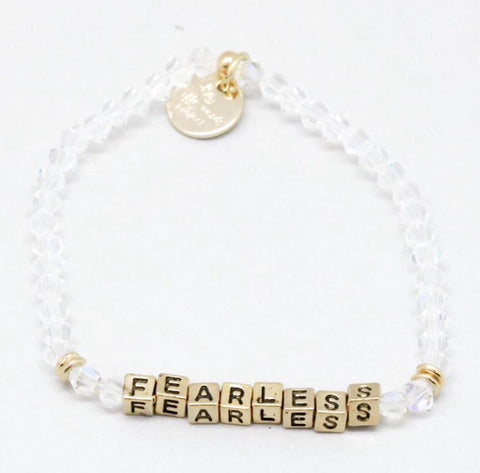 "Little Words Project ""Fearless"" Bracelet"