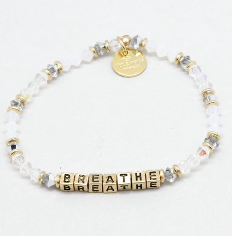 "Little Words Project ""Breathe"" Bracelet"