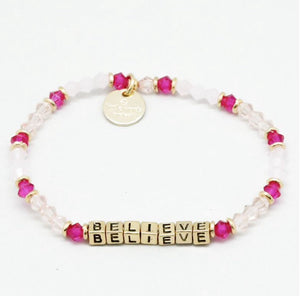 "Little Words Project ""Believe"" Bracelet"