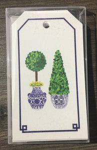Chinoiserie Topiary Gift Tags