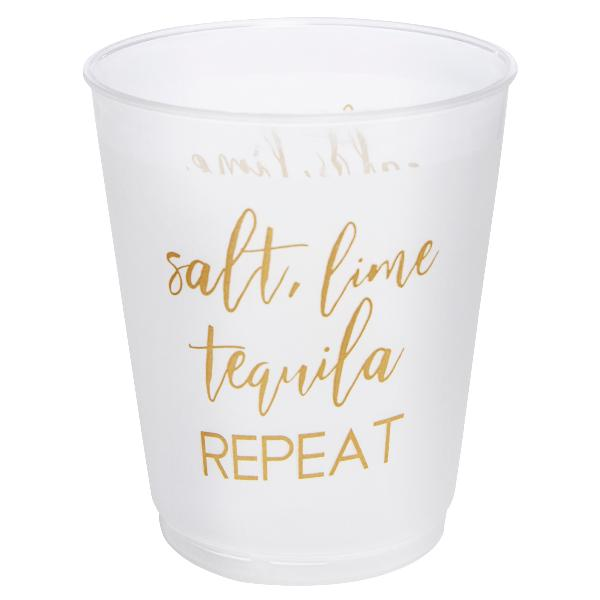 4 oz. Salt Lime Tequila Frost Flex Shot Glasses