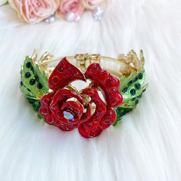 Alice in Wonderland Rose Bracelet, disneybound idea