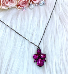 Purple Ariel Necklace